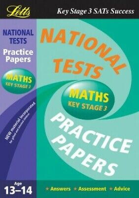 National Test Practice Papers 2003: Maths Key stage 3 Paperback Book The Cheap