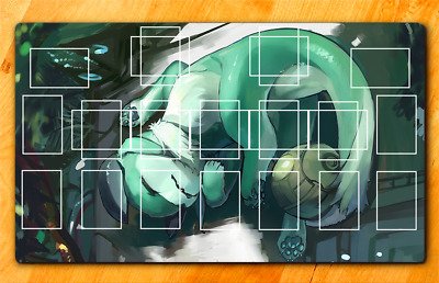 HIGH QUALITY YUGIOH PLAYMAT CUSTOM World Chalice Guardragon Playmat custom mat
