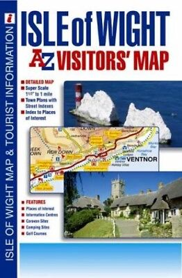 Isle of Wight Visitors' Map by Geographers' A-Z Map Company Sheet map, folded