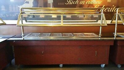 6 well steamed Buffet station/warmer in good condition