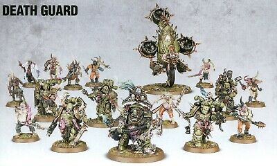 40K Poxwalkers/Plague Marines/Bloat-Drone Death Guard Nurgle Chaos Space Marines