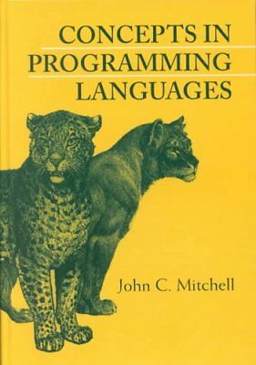 Concepts in Programming Languages by John C. Mitchell 9780521780988