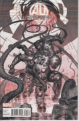 AGE OF ULTRON   5  .....2013...  NM ... 1:25 Variant Cover    .. Bargain!