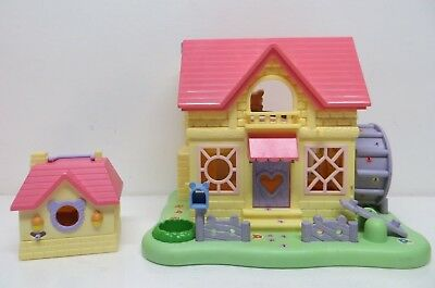 Hamtaro Ham Ham Hamster dollhouse house+Toy Play House