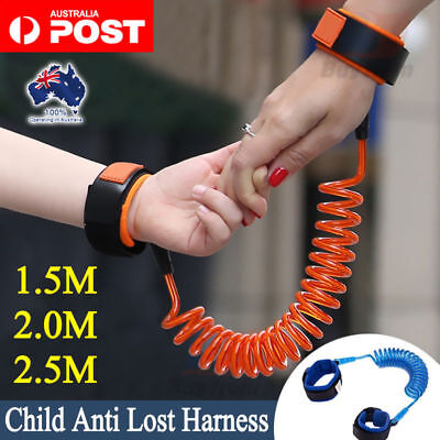 Toddler Baby Anti Lost Wrist Link Child Harness Leash Safety Walking Hand Belt