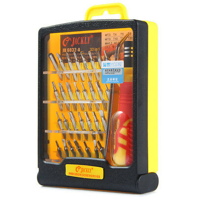 JK-6032A 32 in 1 Screwdrivers Set Kit for Cell Phone / Computer MP4 Repair Tools