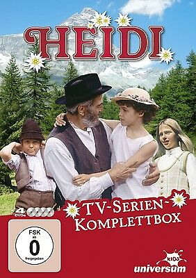 Heidi - TV-Serien Komplettbox - Realserie von 1978 - 4 DVD Box