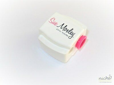 "PRECISION ""PRO-TOOLS"" WHITE DUAL SIZE COSMETIC PENCIL SHARPENER from GERMANY"