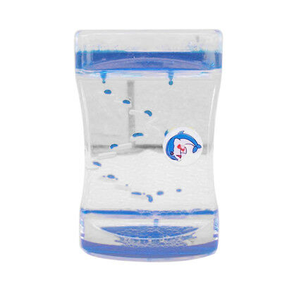 Floating Liquid Timer Visual Desktop Decor Relief Toy Hourglass Crafts -Pick
