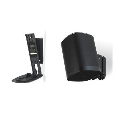 FlexsonFLXS1WM2021Tilt/Swivel Wall Bracket Mount for Sonos ONE/PLAY 1 PAIR Black