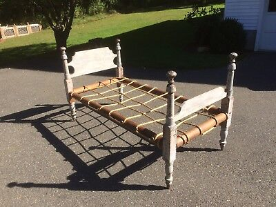 Antique Childs Rope Bed