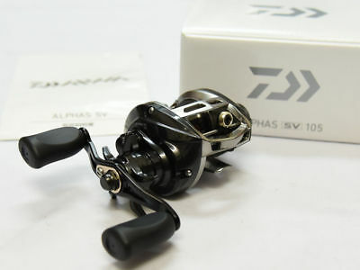2015 NEW Daiwa ALPHAS SV 105 (RIGHT HANDLE) Bait Casting Reel From Japan