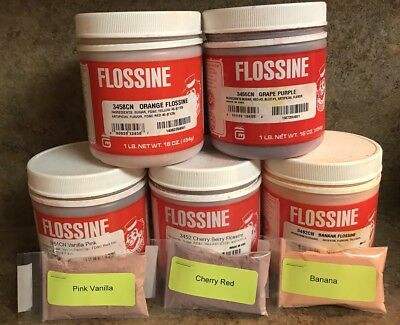 Gold Medal Flossine Cotton Candy Sugar Flavor Makes 10 lbs New Flavors!