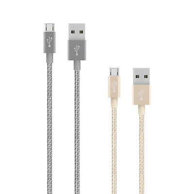 Genuine Belkin Micro USB 1.2m Data Sync Charge Cable For Smartphones & Devices