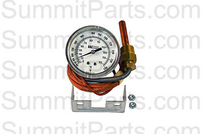 """Thermometer, 0-115 Celsius, 2 1/2"""" Dial - For Milnor - 30R003"""