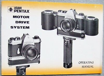 pentax camera instruction manual