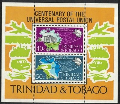 Trinidad and Tobago Centenary of UPU MS SG#MS453