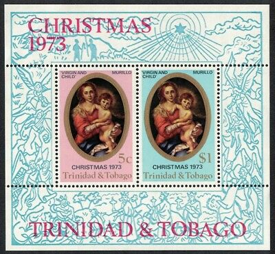 Trinidad and Tobago Painting Murillo Christmas MS SG#MS450