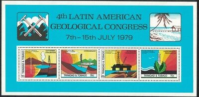Trinidad and Tobago 4th Latin American Geological Congress MS SG#MS543