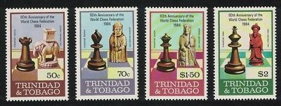 Trinidad and Tobago 60th Anniversary of International Chess Federation 4v