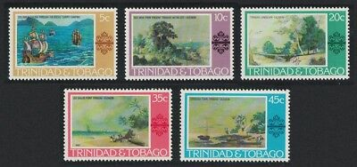 Trinidad and Tobago Paintings Christopher Columbus 5v SG#479=490