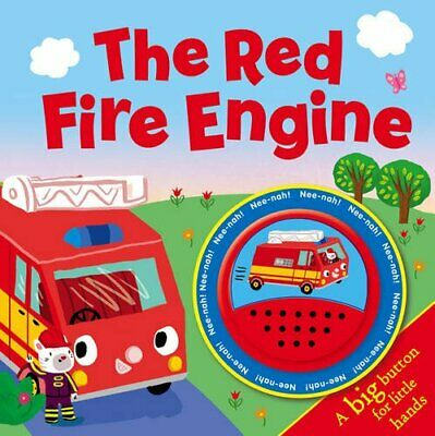 The Red Fire Engine (Funtime Sounds) Book The Fast Free Shipping