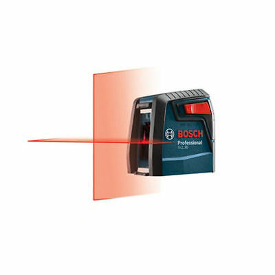 Bosch 30 Ft. Self-Leveling Cross-Line Laser  GLL 30