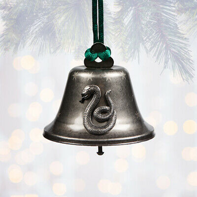 Universal Studios Harry Potter Slytherin Bell Christmas Ornament New with Tags
