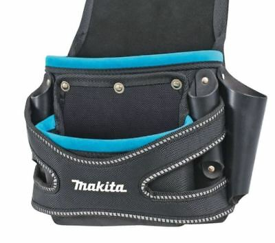 Makita 2 POCKETS FIXING POUCH Carpenter Electrician Home BUILDING HEAVY DUTY