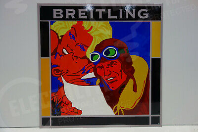Breitling Watch Store Dealer Display Sign 2014 Pop art display by Kevin T. Kelly