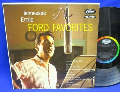 Lp Tennessee Ernie Ford - Ford Favorites // Usa Capitol T-841