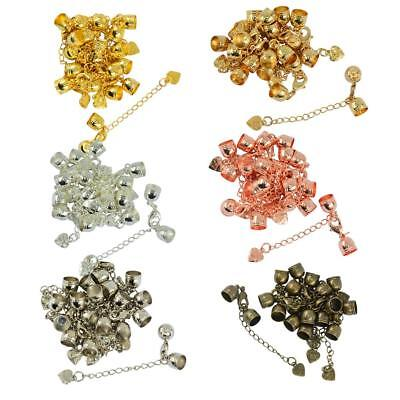 10pcs Cord End Clasps With Lobster Clasp Extender Chain DIY Jewelry Findings