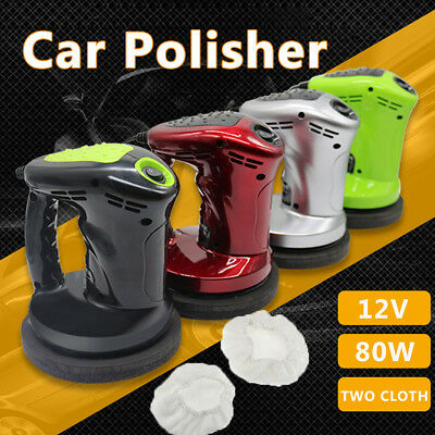 12V 80W Portable Car Polishing Waxed Machine Cleaner Waxer Polisher Auto Home