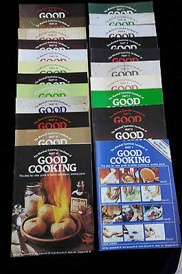 Vintage Good Cooking Magazines | Marshall Cavendish | The first 23 editions