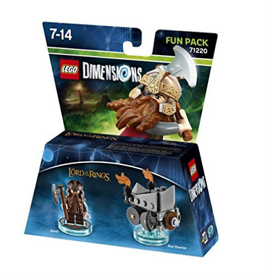 Lego Dimensions: Fun Pack - Lord Of The Rings - Gimli (Xbox One/Xbo...  GAME NEW