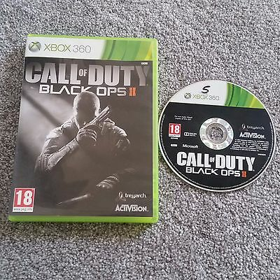 Call of Duty Black Ops II 2 Xbox 360 with zombie mode (Xbox One compatible)