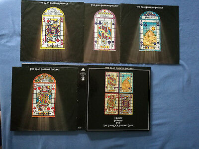The Alan Parsons Project-4LP Box-I Robot/Pyramid/Eve/The Turn Of A Friendly Card