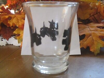 Scottie-small glass -mulit use-juice or liquor glass