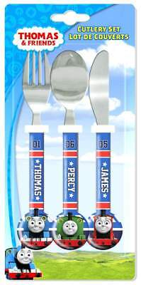Thomas The Tank Engine 'College' 3-Piece Cutlery Set | Thomas and Friends