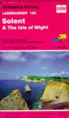 Landranger Maps: Solent and the Isle of ... by Ordnance Survey Sheet map, folded