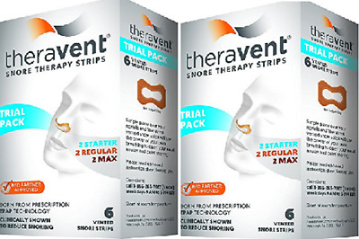 Theravent Snore Therapy Strips (Trial Pack) ( 2 Pack)
