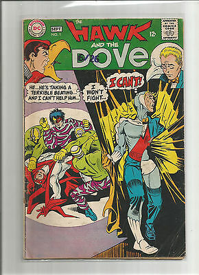 The Hawk and the Dove Lot of Four  #1-4 ( 1968, DC)  Silver Age Steve Ditko