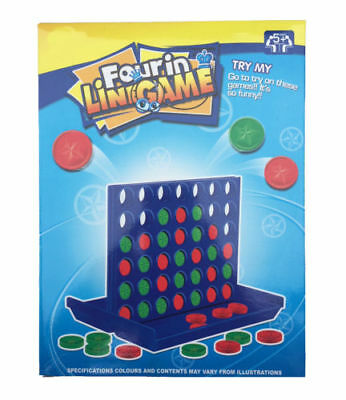 Connect 4 In A Row Four In A Line Board Game Family Fun Take On Trips Fab Xmas
