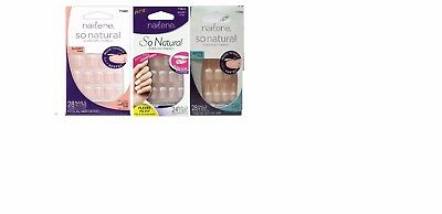 Nailene So Natural Everyday French 28 count (CHOOSE YOUR TYPE)