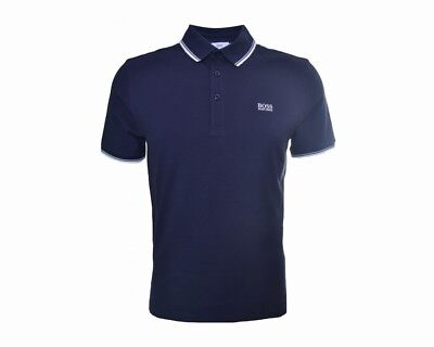 Sale Hugo Boss Kids J25P00 849 Cotton Boys Polo Shirt Navy 4-16 Years