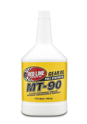 Red Line (50304) MT-90 75W-90 GL-4 Manual Transmission and Transaxle Lubricant -