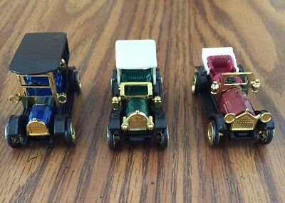 Vintage Antique Classic Style Die-cast Cars 1:64  High Speed MINT
