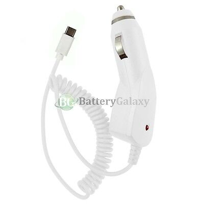 100X NEW USB Type C Battery Cable Cord Car Charger for Android Cell Phone HOT!