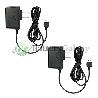 2x Travel Battery Wall AC Charger Phone for T-Mobile Samsung SGH-t139 t439 t659
