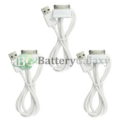 """3 USB Battery Charger Cable Cord for Samsung Galaxy Note 2 Tablet 10.1"""" 300+SOLD"""